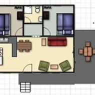 cottage 1 floor layout
