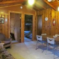 Cabin #3 Living Room