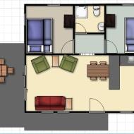 Cabin 2 floor layout