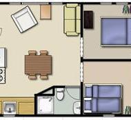 Cabin #3 floor layout